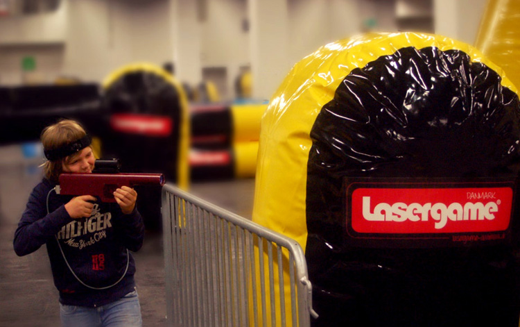 messe events lasergame