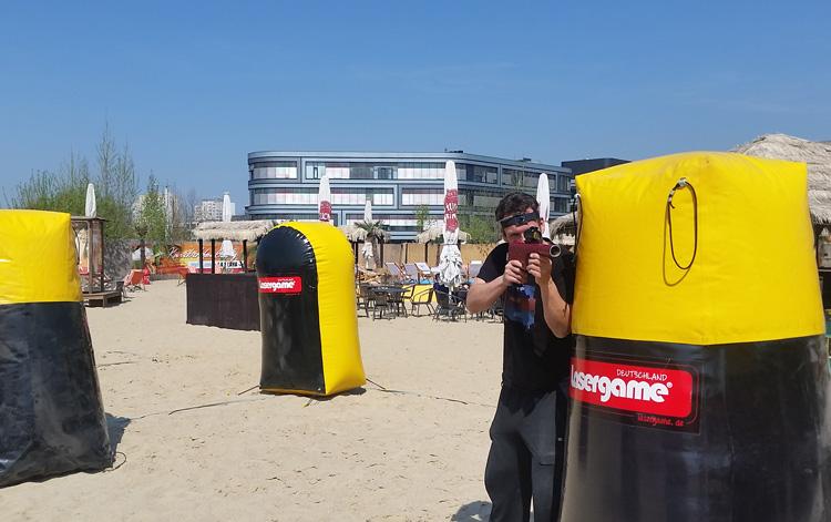 lasergame lasertag beach